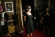 Scarlett Johansson, The Moet and Chandon Fashion Tribute 2006 Honouring British Photographer Nick Knight. Strawberry Hill House. Twickenham. 24 October 2006. -DO NOT ARCHIVE-© Copyright Photograph by Dafydd Jones 66 Stockwell Park Rd. London SW9 0DA Tel 020 7733 0108 www.dafjones.com