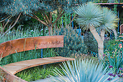 The wintons Beuaty of Mathematics Garden by Nick Bailey.