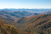 Great Smokey Mountains Nationalpark. Tennessee. United States of America.