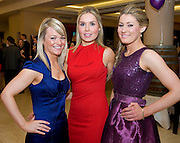 Carmel Comry, Roscommon, Kate Doran Limerick, Helen McDermott, Galway City at the Take Me Out for Cancer Care West in the Sathill Hotel, Galway . Photo:Andrew Downes.