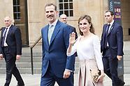 140717 Spanish Royals visit UK - Day 3 - Oxford