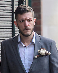 © Licensed to London News Pictures.05/04/2017.London, UK. CHRIS GARD arrive at The Royal Courts of Justice in London where a High Court judge is due to rule on whether doctors can withdraw life-support treatment to his son, Charlie, who suffers from a rare genetic condition. Doctors at Great Ormond Street Hospital in London say eight-month-old Charlie should be left to die in dignity, but his parents have raised £1.2 million for specialist treatment in America.Photo credit: Ben Cawthra/LNP