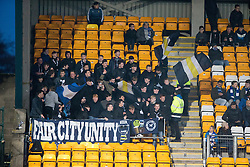 St Johnstone's fans. St Johnstone 2 v 4 Ross County. SPFL Ladbrokes Premiership game played 19/11/2016 at St Johnstone's home ground, McDiarmid Park.