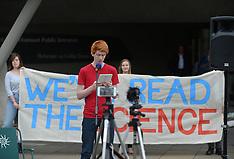 Climate change activists protest  Edinburgh, 24 September 2019