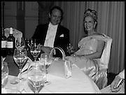 PRINCESS DIMITRI LOBANOV-ROSTOVSKY; LADY GEORGIA CAMPBELL, The St. Petersburg Ball. In aid of the Children's Burns Trust. The Landmark Hotel. Marylebone Rd. London. 14 February 2015.