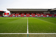 General view inside Ashton Gate Stadium before the The FA Cup 5th round match between Bristol City and Wolverhampton Wanderers at Ashton Gate, Bristol, England on 17 February 2019.