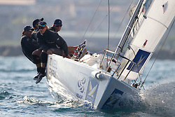Team Origin in action during the semi Finals   at  Match Race France   in  Marseille, France 11 April 2010 Photo: Brendon O'Hagan/Subzero images