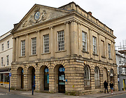 Old Town Hall, 1752 architect named Lawrence, Devizes, Wiltshire, England, UK