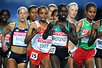 ATHLETICS - IAAF WORLD CHAMPIONSHIPS 2011 - DAEGU (KOR) - DAY 1 - 27/08/2011 - WOMEN 10000M - VIVIAN JEPKEMOI CHERUIYOT (ETH) / WINNER - PHOTO : FRANCK FAUGERE / KMSP / DPPI