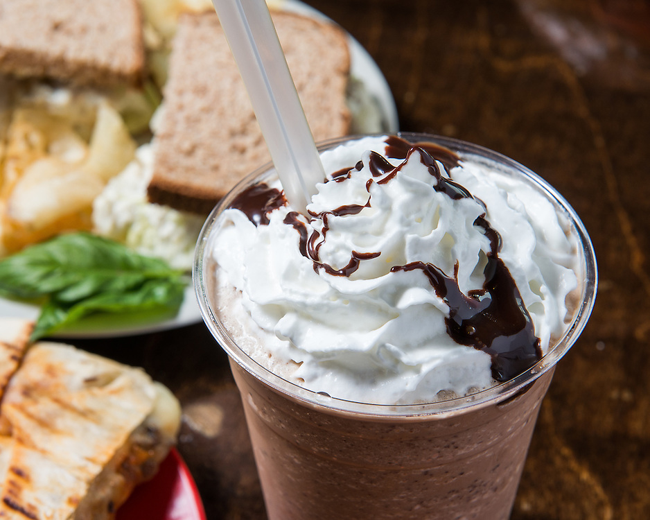 Frozen coffee drink, food and beverage photography by Jason Jones. Texas based commercial architecture, still life, studio, and editorial / advertising photographer