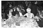 Norman Rosenthall; Bob Geldof; Paula Yates Alan Yentob, , The Turner prize dinner . Tate gallery.  London. 1991. <br /> <br /> SUPPLIED FOR ONE-TIME USE ONLY> DO NOT ARCHIVE. © Copyright Photograph by Dafydd Jones 248 Clapham Rd.  London SW90PZ Tel 020 7820 0771 www.dafjones.com