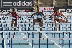women's 100 Hurdles, Dawn Harper-Nelson, Tiffany Porter, Cindy Billaud, adidas Grand Prix Diamond League track and field meet