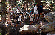 Victor Emanuel's Camp Chiricahua kids and Roger T. Peterson, Chiricahua Mountains, Arizona..Media Usage:.Subject photograph(s) are copyrighted Edward McCain. All rights are reserved except those specifically granted by McCain Photography in writing...McCain Photography.211 S 4th Avenue.Tucson, AZ 85701-2103.(520) 623-1998.mobile: (520) 990-0999.fax: (520) 623-1190.http://www.mccainphoto.com.edward@mccainphoto.com.