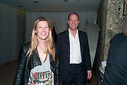 SARA PARKER BOWLES; HARRY BLAIN, An evening at Sanderson to celebrate 10 years of Sanderson, in aid of Clic Sargent. Sanderson Hotel. 50 Berners St. London. W1. 27 April 2010 *** Local Caption *** -DO NOT ARCHIVE-© Copyright Photograph by Dafydd Jones. 248 Clapham Rd. London SW9 0PZ. Tel 0207 820 0771. www.dafjones.com.<br /> SARA PARKER BOWLES; HARRY BLAIN, An evening at Sanderson to celebrate 10 years of Sanderson, in aid of Clic Sargent. Sanderson Hotel. 50 Berners St. London. W1. 27 April 2010