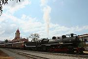 Mariana_MG, Brasil...Maria Fumaca ou locomotiva a vapor que faz o trajeto entre Mariana e Ouro Preto...The steam locomotive, this route is between Mariana and Ouro Preto...Foto: LEO DRUMOND / NITRO.