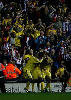 Photo: Steve Bond.<br />Derby County v Southampton. Coca Cola Championship. Play Off Semi Final, 2nd Leg. 15/05/2007. Grzegorz Rasiak celebrates his goal against his old club