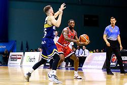 Fred Thomas of Bristol Flyers - Mandatory by-line: Robbie Stephenson/JMP - 05/10/2018 - BASKETBALL - University of Worcester Arena - Worcester, England - Bristol Flyers v Worcester Wolves - British Basketball League