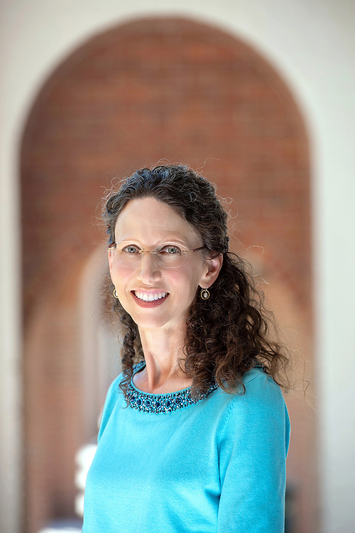 Photography ©Mara Lavitt<br /> July 18, 2018<br /> <br /> Jennifer Herdt of the Yale Divinity School, photographed at the school in New Haven, CT.