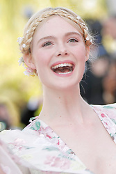 "72th Film Festival of Cannes 2019. Red carpet of ""Les Miserables"". 15 May 2019 Pictured: Elle Fanning. 72th Film Festival of Cannes 2019. Red carpet of ""Les Miserables"". Pictures: Laurent Guerin / EliotPress Set ID: 600453. Photo credit: Eliot Press / ELIOTPRESS / MEGA TheMegaAgency.com +1 888 505 6342"