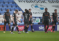 Hull City's players look dejected after conceding a own goal<br /> <br /> Photographer Mick Walker/CameraSport<br /> <br /> The EFL League 1 - Shrewsbury Town v Hull City  - Saturday  20th March  2021 -  Montgomery Waters Meadow Stadium-Shrewsbury<br /> <br /> World Copyright © 2020 CameraSport. All rights reserved. 43 Linden Ave. Countesthorpe. Leicester. England. LE8 5PG - Tel: +44 (0) 116 277 4147 - admin@camerasport.com - www.camerasport.com
