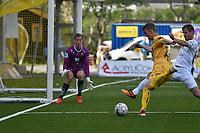 Fotball , 11 juni 2017 , OBOSligaen , Glimt - Jerv , Kristian Fardal Opseth, Glenn Brevik Andersen, Øyvind Christoffer Vogt Knutsen
