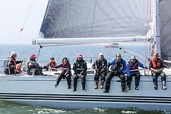 , Travemünde - Maibock Regatta 06.05. - 07.05.2017, ORC - Xtra fun - GER 5509 - Horst Figge-Jänke - X-37 - Sail-Lollipop Regatta Verein  e.Vƭ