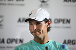 Spanish tennist Rafael Nadal attends a press conference in Buenos Aires, Argentina, Feb. 23, 2015. Nadal will take part in the 2015 ATP Argentina Open tennis tournament starting on Tuesday. EXPA Pictures © 2015, PhotoCredit: EXPA/ Photoshot/ Martin Zabala<br /> <br /> *****ATTENTION - for AUT, SLO, CRO, SRB, BIH, MAZ only*****