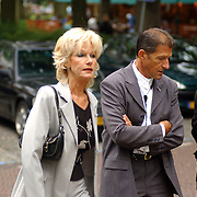 NLD/Laren/2005005 - Begrafenis Roy Beltman, Saskia en Serge