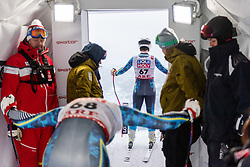 February 8, 2019 - …Re, SWEDEN - 190208 Zack Monsen and Filip Platter of Sweden at a men's downhill training session during the FIS Alpine World Ski Championships on February 8, 2019 in Ã…re..Photo: Joel Marklund / BILDBYRÃ…N / kod JM / 87852 (Credit Image: © Joel Marklund/Bildbyran via ZUMA Press)