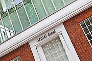 The White Cube art gallery, Hoxte Square, Shoreditch London.