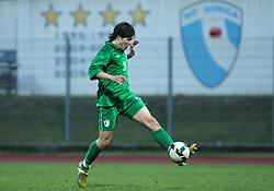 Etien Velikonja (11)  of Slovenia during Friendly match between U-21 National teams of Slovenia and Romania, on February 11, 2009, in Nova Gorica, Slovenia. (Photo by Vid Ponikvar / Sportida)