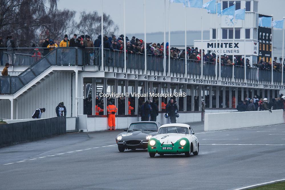 #6, Porsche 356 (1953), confirmed driver: Sam Tardoff, Tim Sugden, Moss Trophy at Goodwood 76th Members Meeting, Goodwood Motor Circuit, on 17.03.2018