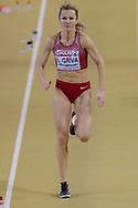 Lauma Griva (Latvia), Long Jump, during the European Athletics Indoor Championships 2019 at Emirates Arena, Glasgow, United Kingdom on 1 March 2019.