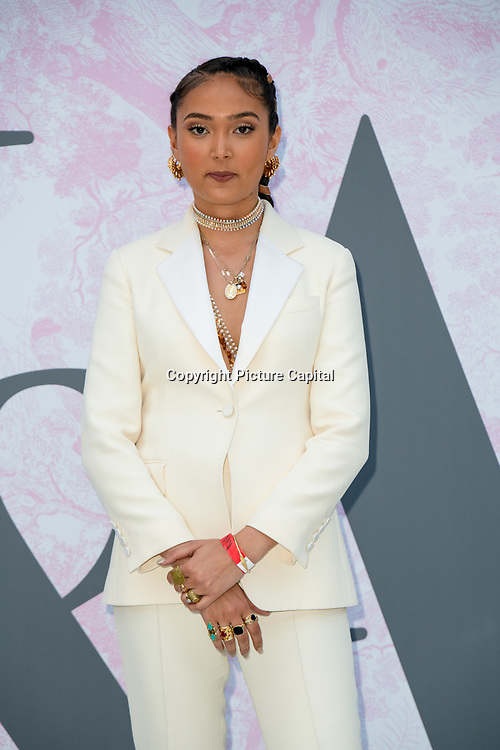 Joy Crookes arrives at V&A - summer party, on 19 June 2019, London, UK