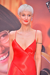 © Licensed to London News Pictures. 07/10/2017. London, UK. ANDREA RISEBOROUGH attends the European film premiere of Battle Of The Sexes showing as part of the BFI London Film Festival. Photo credit: Ray Tang/LNP
