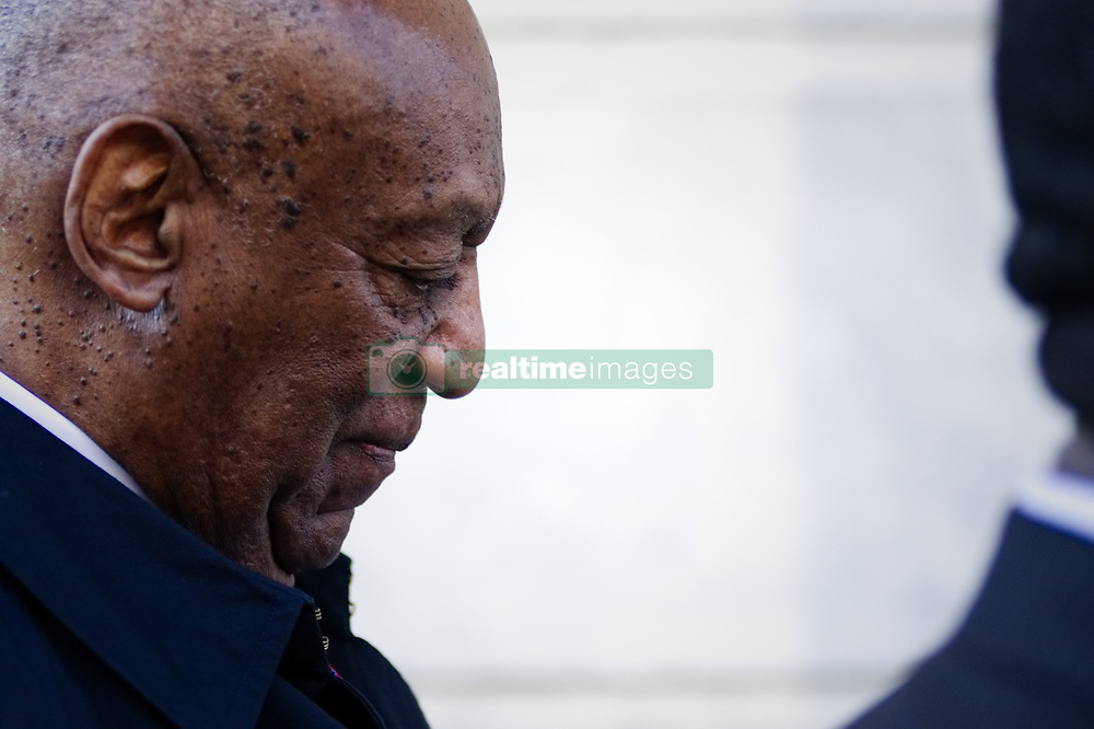 April 26, 2018 - Norristown, Pennsylvania, US - BILL COSBY arrives for the second day of jury deliberations at Montgomery County Court House. The jury in the Bill Cosby sexual-assault retrial has reached a verdict after a day and a half of deliberations: He has been found guilty on all three counts. (Credit Image: © Bastiaan Slabbers/NurPhoto via ZUMA Press)
