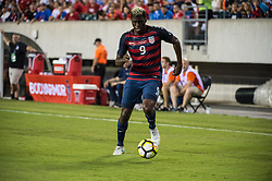 July 19, 2017 - Philadelphia, Pennsylvania, U.S - United States of America midfielder GYASI ZARDES (9) during CONCACAF Gold Cup 2017 quarterfinal action at Lincoln Financial Field in Philadelphia, PA.  USA  defeats El Salvador 2 to 0. (Credit Image: © Mark Smith via ZUMA Wire)