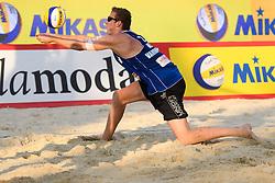 29-05-2016 RUS: Grand Slam Beachvolleyball, Moskou<br /> Reinder Nummerdor #1 en Christiaan Varenhorst #2 pakken het goud in de finale tegen Bruno Oscar Schmidt en Alison Cerutti.<br /> <br /> ***NETHERLANDS ONLY***