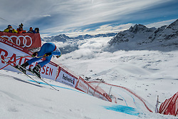 09.02.2017, St. Moritz, SUI, FIS Weltmeisterschaften Ski Alpin, St. Moritz 2017, Abfahrt, Herren, Training, im Bild Dominik Paris (ITA) am Free Fall // Dominik Paris of Italy at the free fall in action during the practice run of men's Downhill of the FIS Ski World Championships 2017. St. Moritz, Switzerland on 2017/02/09. EXPA Pictures © 2017, PhotoCredit: EXPA/ Alessandro Della Bella/ POOL