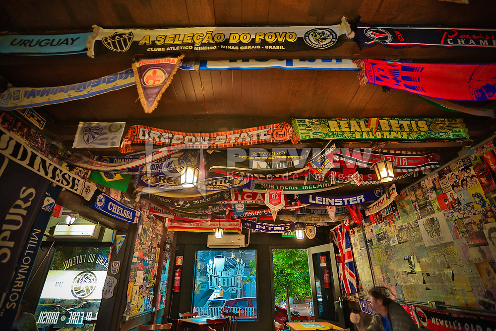 Brechó do Futebol, localizado no centro de Porto Alegre. Foto: Marcos Nagelstein/ Agência Preview