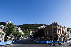 September 16, 2017 - Bergen, NORWAY - 170916 Athletes in the streets during the time trial training session on September 16, 2017 in Bergen..Photo: Jon Olav Nesvold / BILDBYRN / kod JE / 160014 (Credit Image: © Jon Olav Nesvold/Bildbyran via ZUMA Wire)