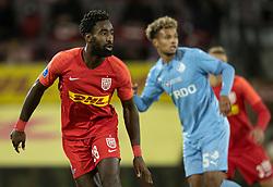 Johan Djourou (FC Nordsjælland) under kampen i 3F Superligaen mellem FC Nordsjælland og Randers FC den 19. oktober 2020 i Right to Dream Park, Farum (Foto: Claus Birch).