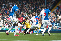 28.08.2010, Ewood Park, Blackburn, ENG, PL, Blackbrun vs Arsenal, im Bild Arsenal's Andrei Arshavin scores the second goal, EXPA Pictures © 2010, PhotoCredit: EXPA/ Propaganda/ D. Rawcliffe *** ATTENTION *** UK OUT! / SPORTIDA PHOTO AGENCY