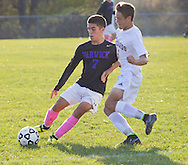 Washingtonville, New York  - Warwick played Washingtonville in a varsity boys' soccer game on Oct. 17, 2014.
