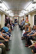 Passengers of the Moscow Underground