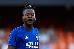 August 20, 2018 - Valencia, Valencia, Spain - Michy Batshuayi of Valencia CF looks on prior to the La Liga match between Valencia CF and Club Atletico de Madrid at Mestalla on August 20, 2018 in Valencia, Spain  (Credit Image: © David Aliaga/NurPhoto via ZUMA Press)