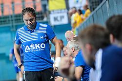 Branko Tamse, head coach of Celje during handball match between RK Celje Pivovarna Lasso and RD Koper 2013 of Super Cup 2016, on August 27, 2016 in SRC Marina, Portoroz / Portorose, Slovenia. Photo by Matic Klansek Velej / Sportida