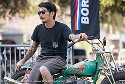 Born Free 8 Custom Motorcycle Show. Silverado, CA, USA. June 26, 2016.  Photography ©2016 Michael Lichter.