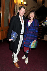 Actor IESTYN ARWEL and actress ALEXANDRA ROACH attend the premier of 2012 Cirque du Soleil's Totem at the Royal Albert Hall, London on 5th January 2012,
