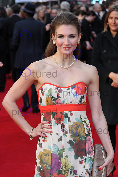 LONDON - APRIL 15:  Summer Strallen attends The Olivier Awards 2012 at the Royal Opera House, Covent Garden, London, UK. April 15, 2012. (Photo by Richard Goldschmidt)
